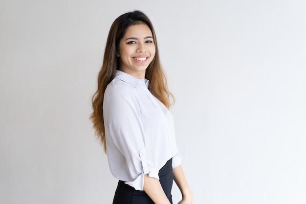 Positive young professional portrait