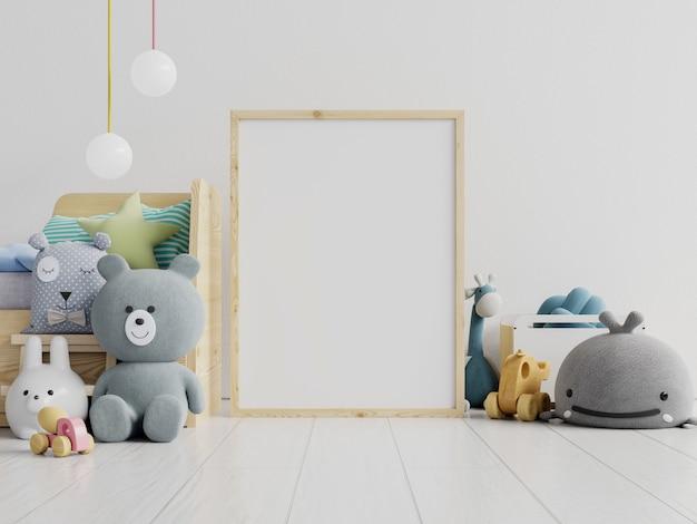 Poster frame in children room, kids room, nursery