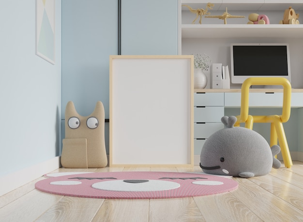 Рамка для плаката в детской комнате