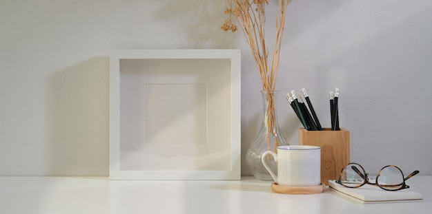 Poster or photo frame and supplies