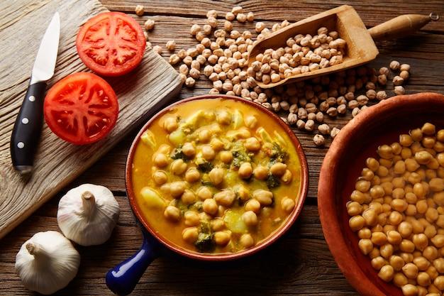 Potaje de garbanzosひよこ豆シチュースペイン