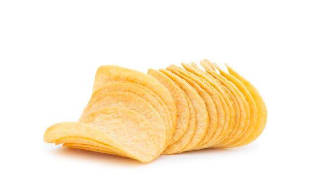 고립 된 감자 칩