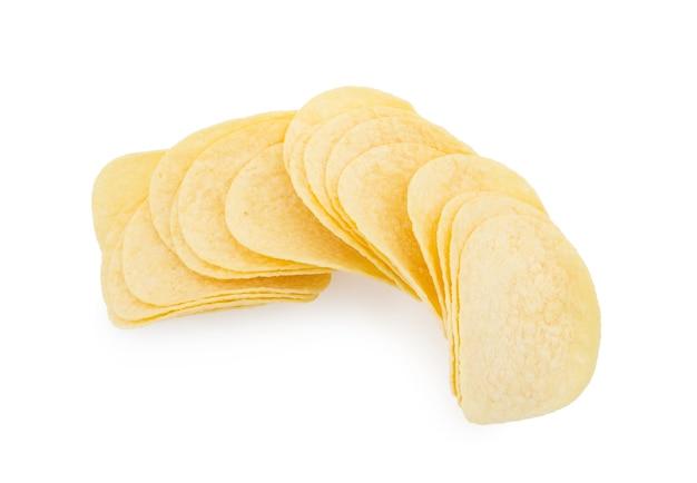 Картофельные чипсы изолированы