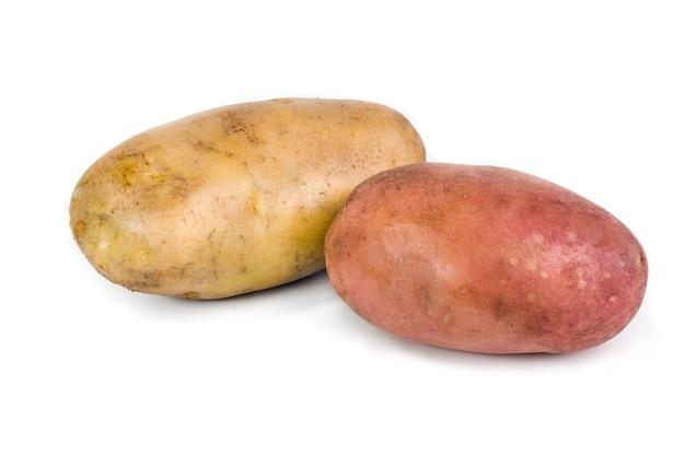 고립 된 감자를 닫습니다.