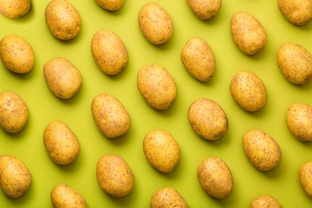 Potato seamless pattern