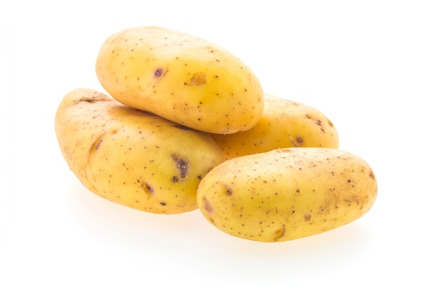 Potato vegetables isolated