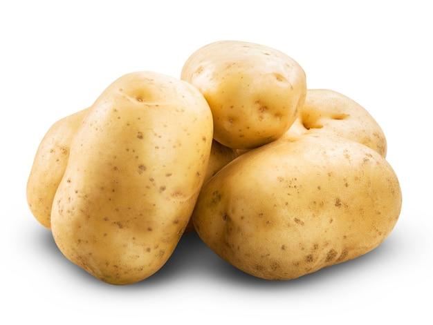 감자 흰색 절연