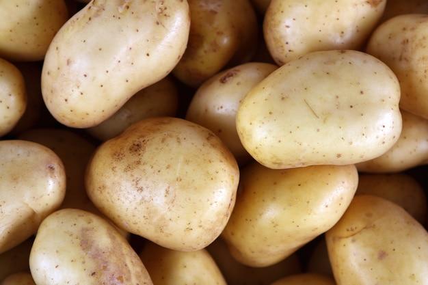 Potatoes on market