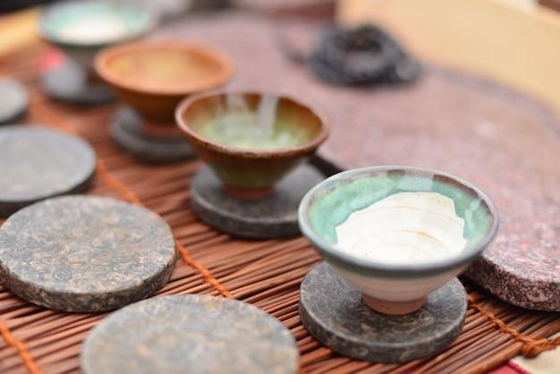 중국 차용 냄비