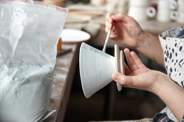 Гончарная мастерская процесс создания гончарных изделий