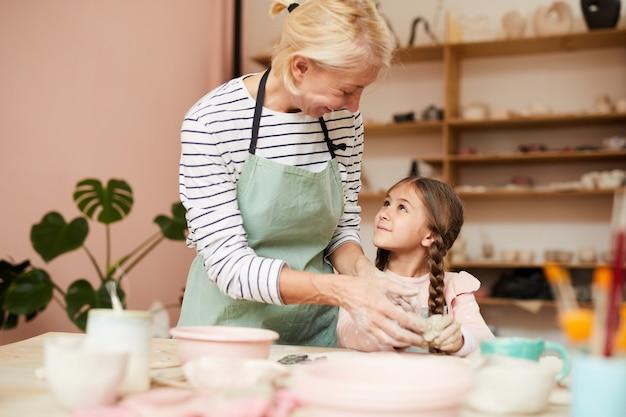 Pottery teacher