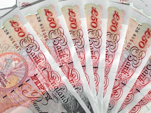 Pound notes, united kingdom