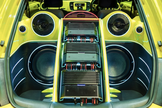 A powerful audio system