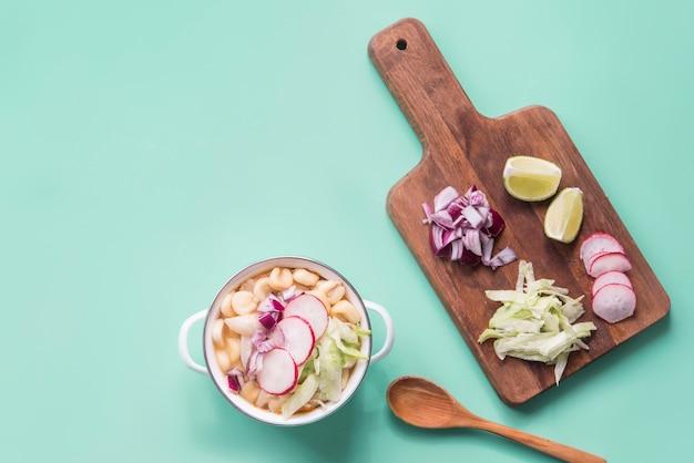 Pozole, типичная мексиканская еда