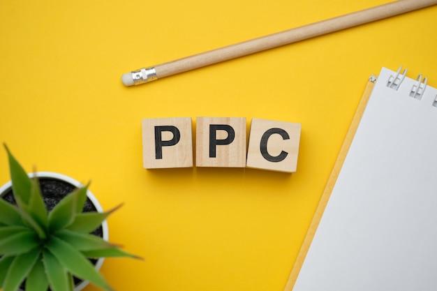 Современное маркетинговое модное слово ppc