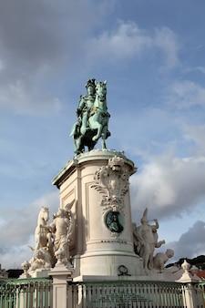 コメルシオ広場、リスボン、ポルトガル