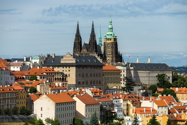 Prague castle view