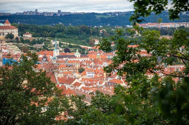 ペトシーンの丘からのプラハ旧市街の眺め