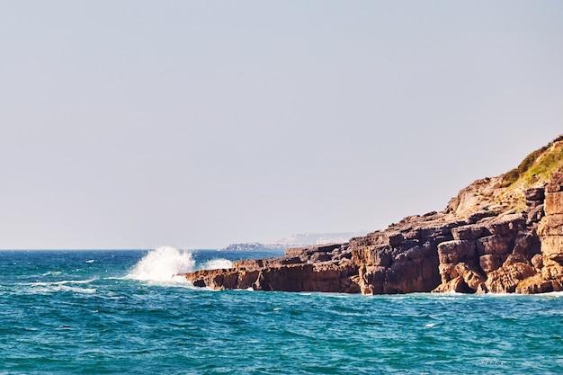 ポルトガルのpraia sao juliaoビーチ