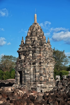 Prambanan is hindu temple in yogyakarta, java, indonesia Premium Photo