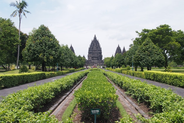 Prambanan temple, hindu temple in yogyakarta, indonesia