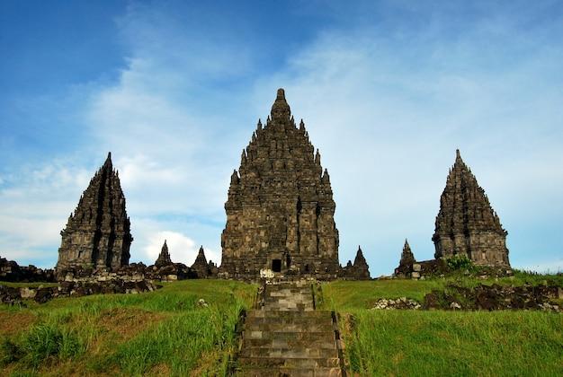 Prambanan temple in sleman yogyakarta