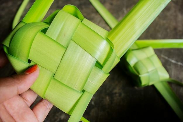 Pre made rice dumpling