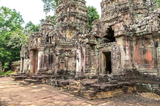 カンボジア、シェムリアップのアンコールワットにあるプリアカーン寺院