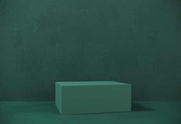 Premium podium, stand on pastel paper background for exhibitions, presentation of products. abstract composition of geometric object, boxes.