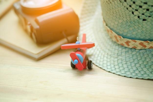 나무 여행 준비, 레트로 효과, 필터, 컬러 토닝, 여행 컨셉