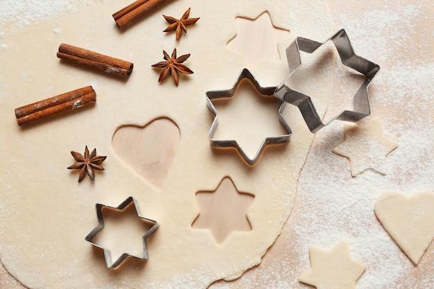クリスマスクッキーの準備
