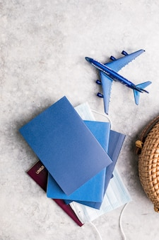 Preparation for travel traveling journey vacation holiday concept