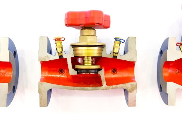 Подготовленный балансировочный клапан