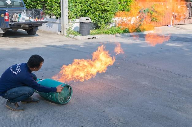 Preparedness for fire drill and training