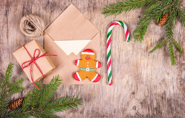 Подготовка к рождеству и упаковка подарков