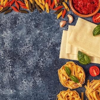 イタリア料理の準備