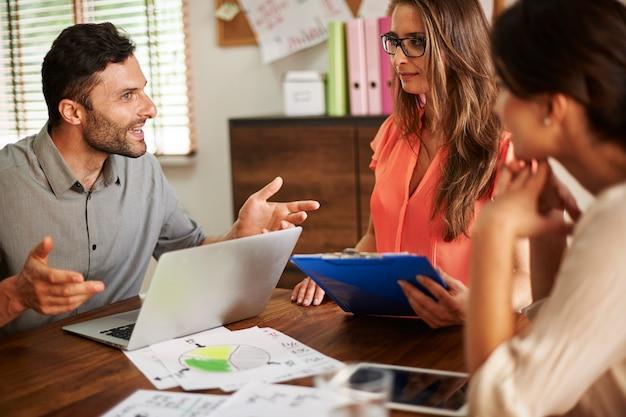 Presentare idee per un nuovo modo di crescere e vendere