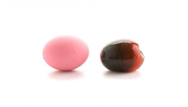 保存されたアヒルの卵