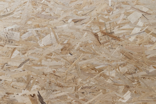 Pressed and glued wood chips background