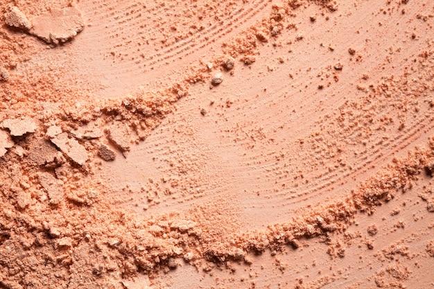 Pressed powder or blusher beige gentle textured background