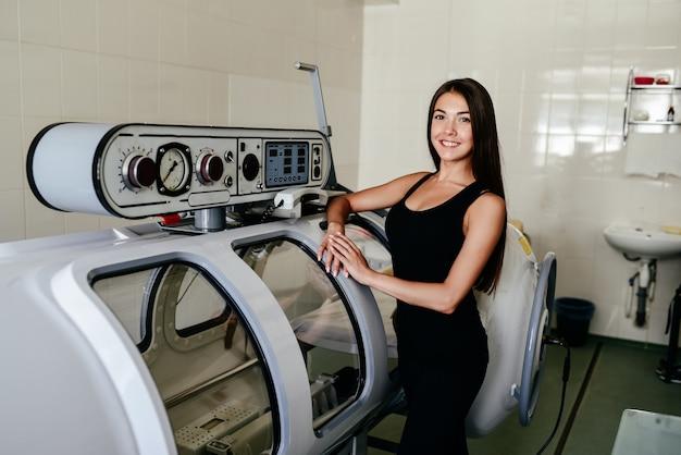 Камера давления - это устройство, которое насыщает организм значительным количеством кислорода. гипербарическая оксигенация.