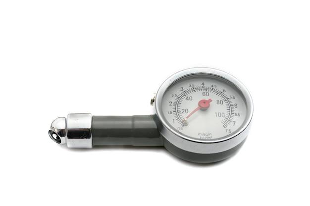 自動車タイヤの空気圧を測定するための圧力計