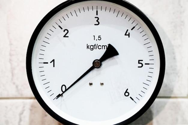 ガスまたは水蒸気ダイヤル桁キログラム用の圧力測定装置高圧および中圧計..