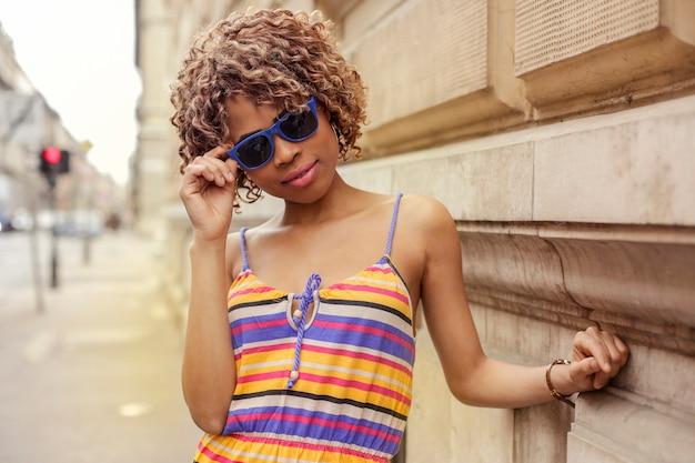 Pretty afro girl