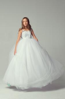 Pretty girl in dress