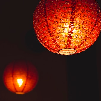 Pretty paper lantern