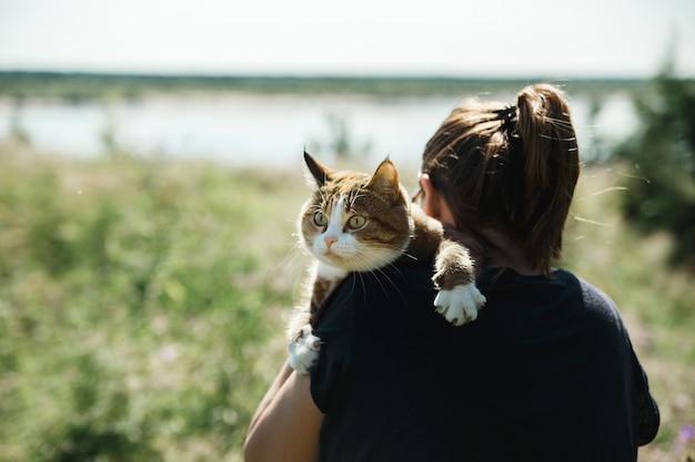 かなり怖い猫が夏の旅に出ます