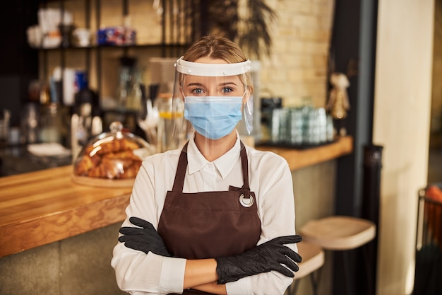 Preventive measures for the barista during the pandemic