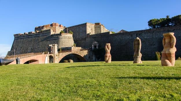 Priamar fortress in savona