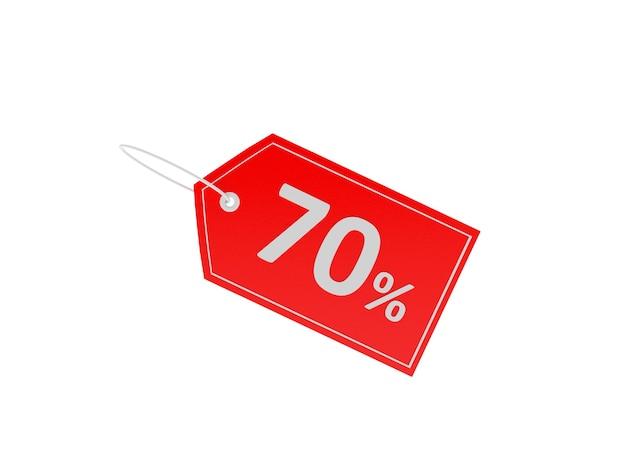 Ценник со скидкой 70%